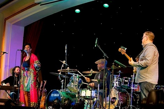 Charmaine Baines and The Afrotation Band