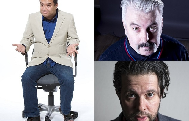 Paul Sinha, Mick Ferry & Andy Robinson (MC)