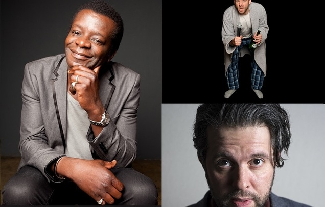 Stephen K Amos, Rob Rouse & Andy Robinson (MC)