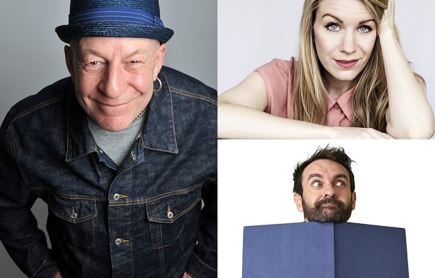 Jeff Innocent, Rachel Parris & Gordon Southern (MC)