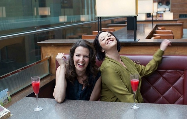 Joanna Strand and Jacqui Tate
