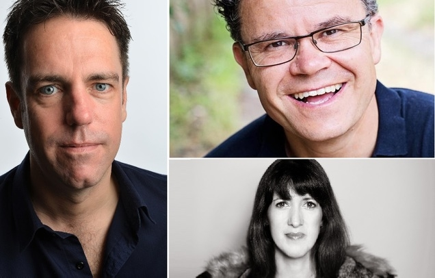 Dominic Holland, Nick Doody & Sally-Ann Hayward