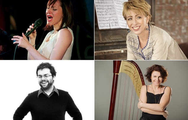 Georgia Mancio in duo with Nikki Iles, Alina Bzhezhinska and Tom Cawley