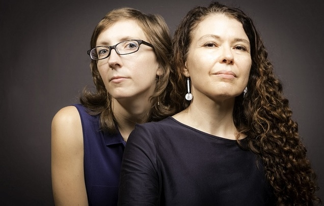 Sylvie Courvoisier and Mary Halvorson