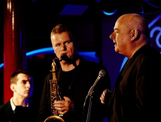 Ian Shaw with Iain Ballamy and Jamie Safir