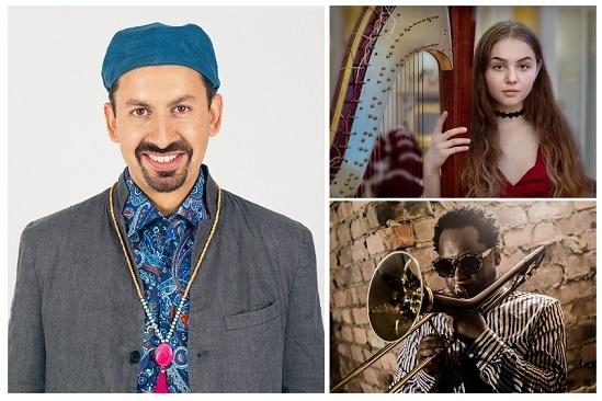 Shez Raja ft Dennis Rollins and Anastasia Volkomorova