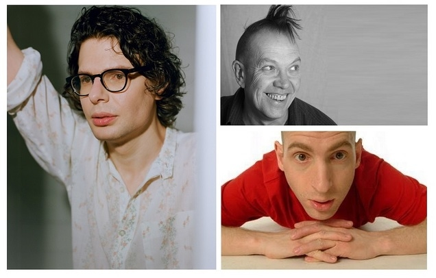 Simon Amstell (Work In Progress) + Windsor (MC) & Adam Bloom