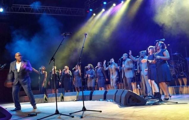 John Fisher and IDMC Gospel Soul Choir