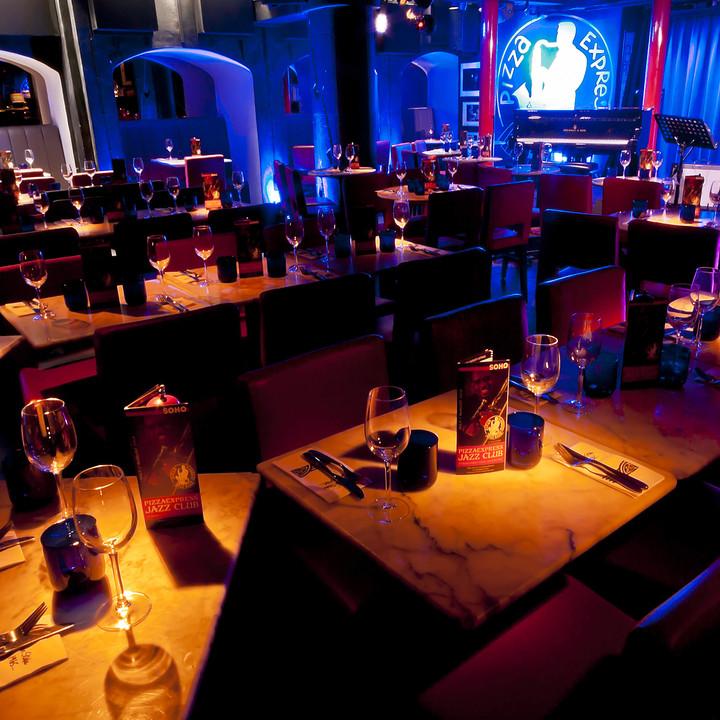 Soho Jazz Club Gallery Pizza Express
