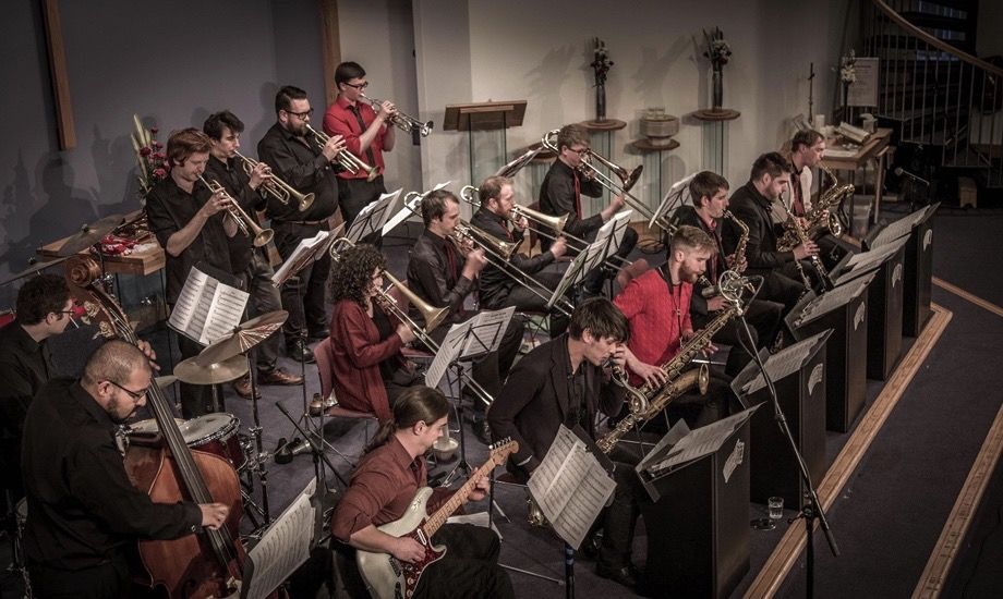 andrew linham jazz orchestra live jazz music