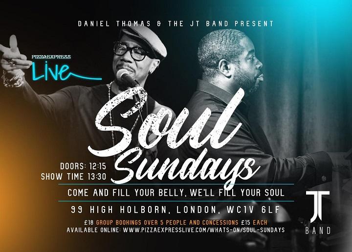 Soul Sundays Live Jazz Music Great Food Pizzaexpress Live